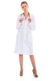 Docteur avec le stéthoscope Photo libre de droits