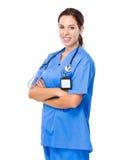 Docteur caucasien de femme image libre de droits