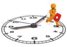 Docteur Clock Photographie stock libre de droits