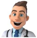 Docteur d'amusement illustration libre de droits