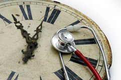 Docteur d'horloge images libres de droits