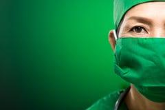 Docteur dans le masque Image stock