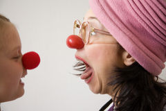 Docteur de clown Image stock