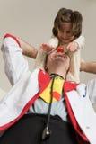 Docteur de clown Photo stock