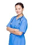 Docteur de femme images stock