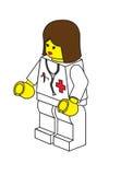 Docteur de Lego Images stock