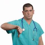 Docteur de mauvaises nouvelles Image stock