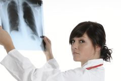 Docteur de rayon X images libres de droits