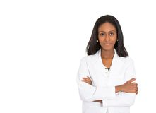 Docteur de sourire, pharmacien, chercheur heureux de scientifique Photographie stock libre de droits