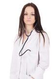 Docteur debout de femme photographie stock