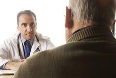 Docteur et patient photographie stock libre de droits