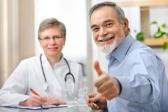 Docteur et patient photo libre de droits