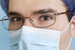 Docteur fâché Photos stock
