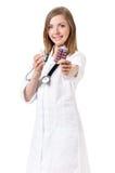 Docteur féminin images libres de droits