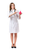 Docteur féminin photo stock