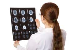 Docteur féminin Images stock