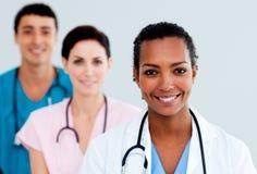 Docteur féminin attirant Images stock