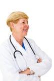 Docteur féminin confiant Photos stock