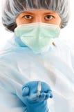 Docteur féminin de chirurgien Image libre de droits