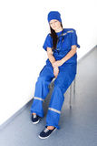 Docteur fatigué photo libre de droits