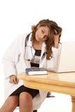 Docteur fatigué Images libres de droits