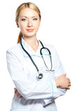 Docteur féminin Photographie stock libre de droits