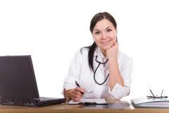 Docteur féminin Image libre de droits