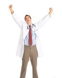 docteur heureux Image libre de droits