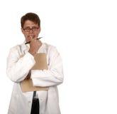 Docteur intéressé Photos libres de droits