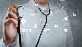 Docteur intelligent Images libres de droits