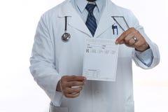 Docteur mâle Photo libre de droits