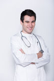 Docteur mâle image libre de droits