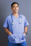Docteur mâle asiatique photographie stock libre de droits