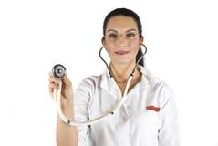 Docteur prêt à consulter Photographie stock libre de droits