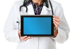 Docteur : Tablette de docteur With Blank Digital photographie stock libre de droits