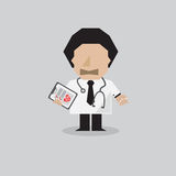 Docteur Vector Illustration Photographie stock