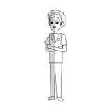 Docteur Woman Icon Photos libres de droits