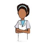Docteur Woman Icon Photo libre de droits