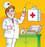 Doctor stock de ilustración