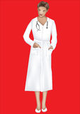 Doctor. This image is a vector illustration and can be scaled to any size without loss of resolution Stock Image