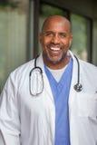 Doctor afroamericano Fotos de archivo libres de regalías