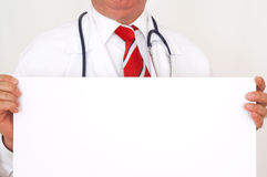 Doctor announcement Royalty Free Stock Photo