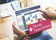 Doctor Appointment Diagnosis Treatment Medical Concept Royalty Free Stock Photos