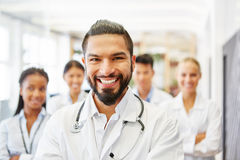 Doctor as competent chief physician Stock Image
