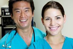 Doctor asiático Fotografía de archivo