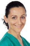 Doctor atractivo de la señora Imagenes de archivo