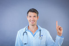 Doctor attention Royalty Free Stock Photo