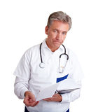 Doctor with bad news Stock Photos