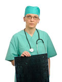 Doctor bad news Stock Images
