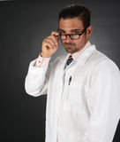 Doctor with Bad News Royalty Free Stock Photography